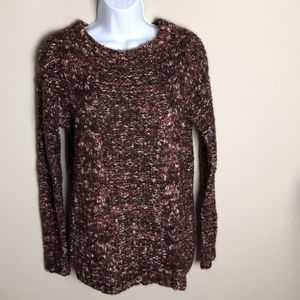 Garage Knit Red/Orange Sweater XS